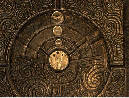 Каменная дверь