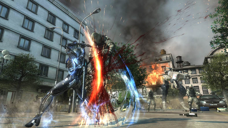 Расчлененка в Metal Gear Rising: Revengeance