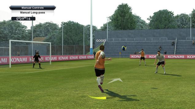 игровой процесс Pro Evolution Soccer