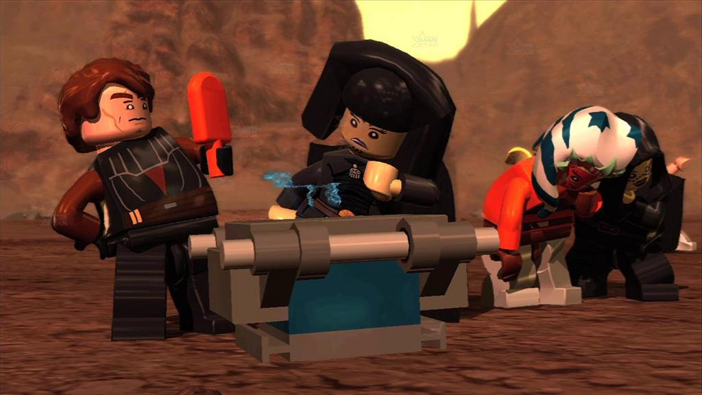 Оружейная фабрика лего звездные воины 3