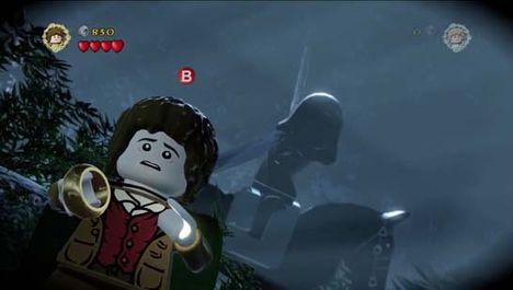 Фродо одевает кольцо