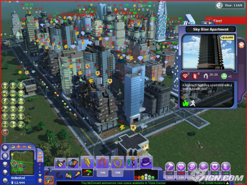 Sim Cities Societies: Destinations