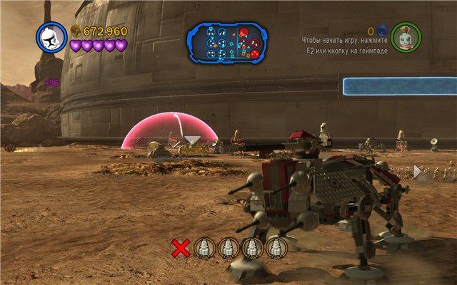 Прохождение Граф Дуку, глава 1 Лего звездные войны 3