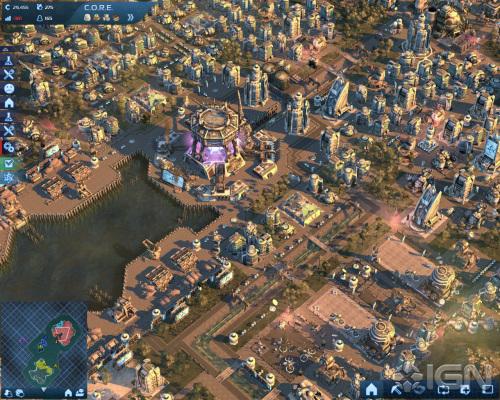 развитый город экологов