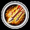 магия  Arrow Rain в castle clans