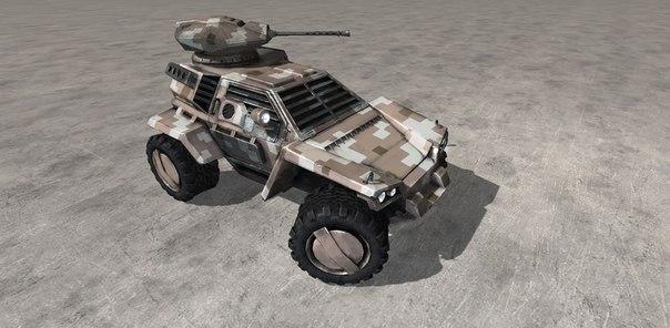 Машина Ask в Стальные войны