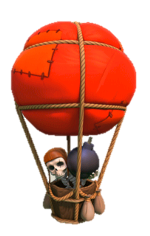 Balloon  в clash of clans