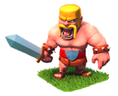 Barbarian (Варвары) в clash of clans