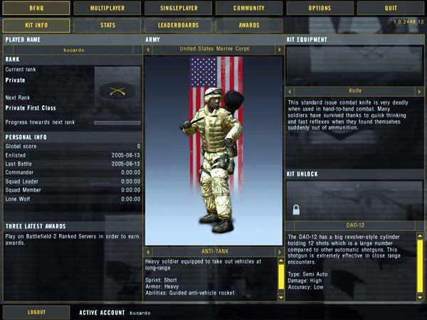 Battlefield 2 персонаж