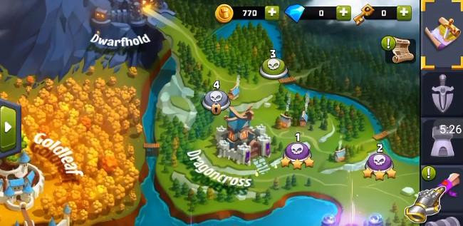 Castle Creeps TD - Кристаллы, энергия, мгновенная тренировка солдат, пробивание щита, повышение уровня, золото