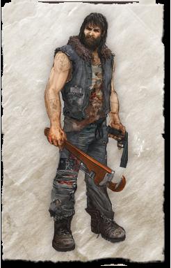 Greasy Steve (Жирный Стив) Ride to Hell: Retribution