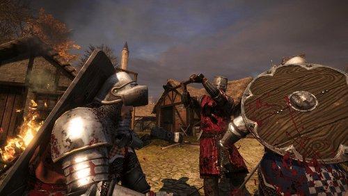 бой в Chivalry: Medieval Warfare
