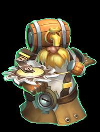 герой Инженер (Engineer) в castle clans