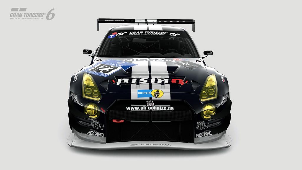 Nissan GT-R NISMO GT3 N24 Schulze Motorsport (2013)