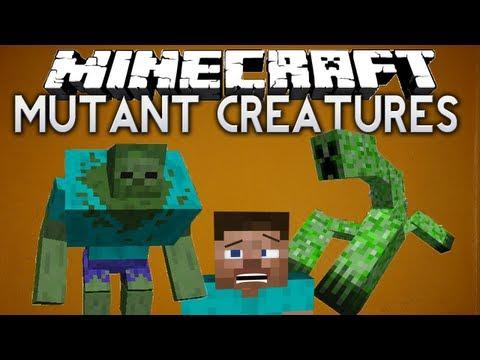 мода Minecraft  Mutant Creatures Мутанты