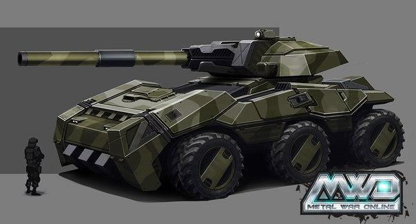 Машина MAGNUM в Стальные войны