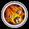 магия  Meteor в castle clans