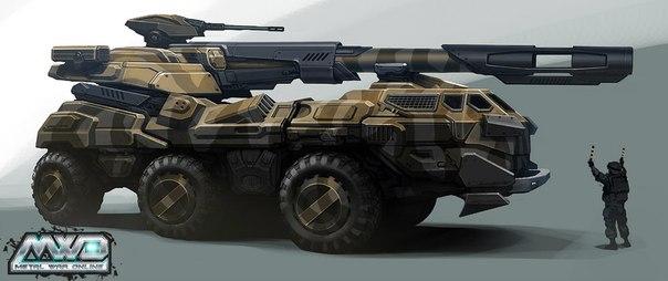 Машина MIST в Стальные войны
