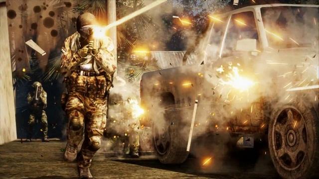 реалистичные перестрелки в Medal of Honor