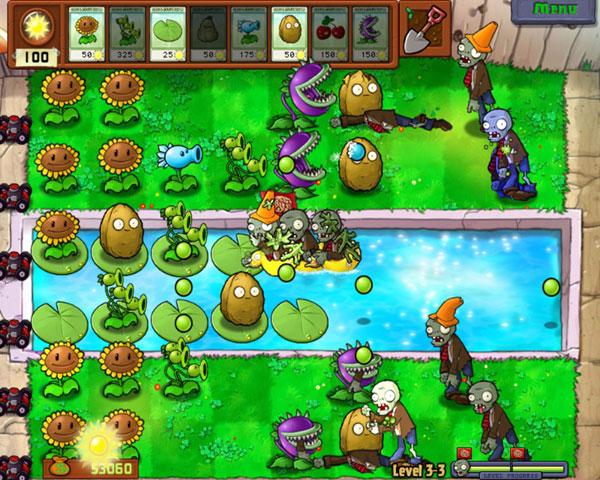 plants vs zombies прохождение