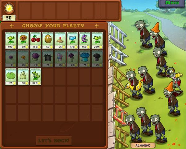 plants vs zombies регистрация