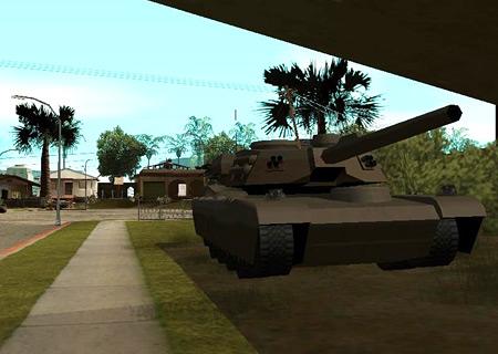 тaнк Rhino в Gta San Andreas Криминальная Россия
