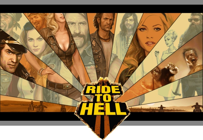 Ride to Hell: Retribution обои