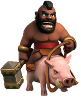 Hog Rider  в clash of clans