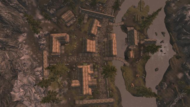 Интерактивная карта Riverwood