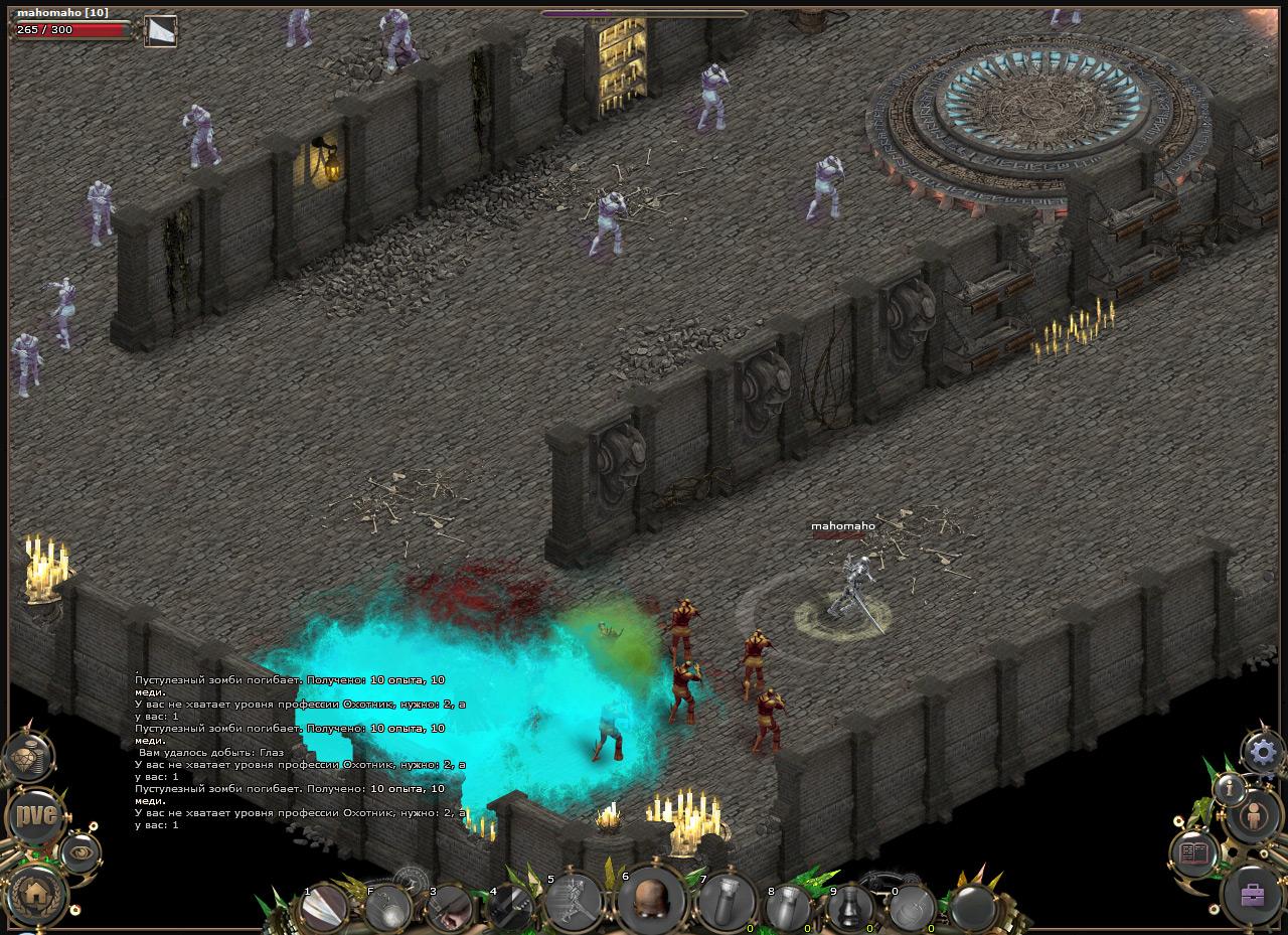 Механика игры Eternal Online