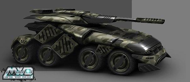 Машина STORM в Стальные войны