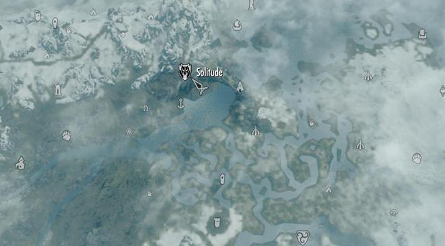 карта solitude