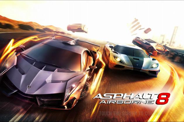 Asphalt 8 Airborne игра на мобильник