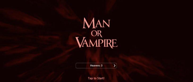 Man or Vampire читы