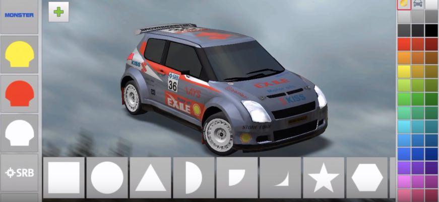 Rush Rally 3 взлом (бесплатная версия)