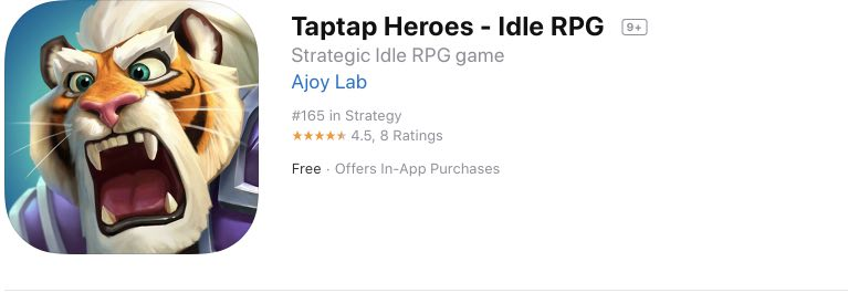 Taptap Heroes читы