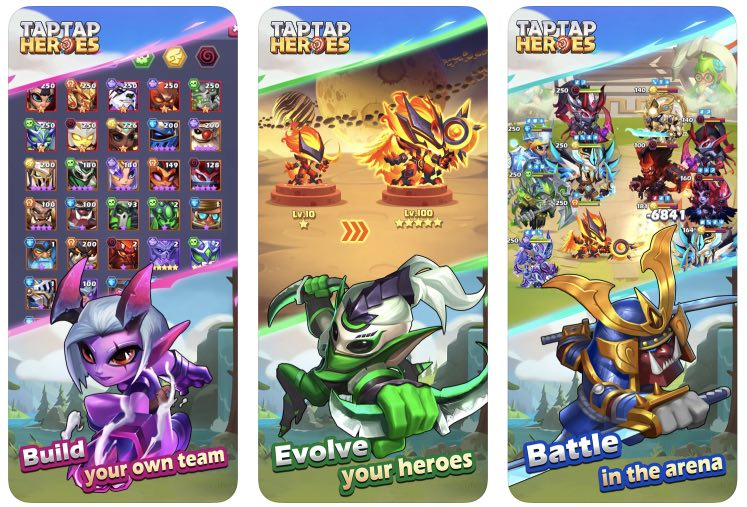 Taptap Heroes читы (душа)
