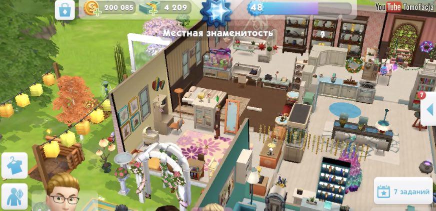 The Sims Mobile читы (легендарные вещи)